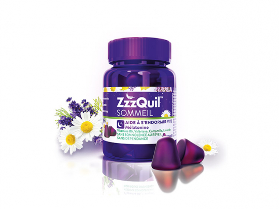 Vicks ZzzQuil Sommeil - 30 gommes