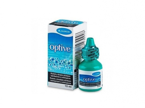 Optive solution oculaire de confort - 10ml