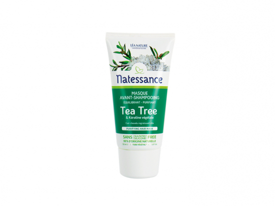 Natessance Masque avant-shampooing équilibrant purifiant Tea Tree - 150ml