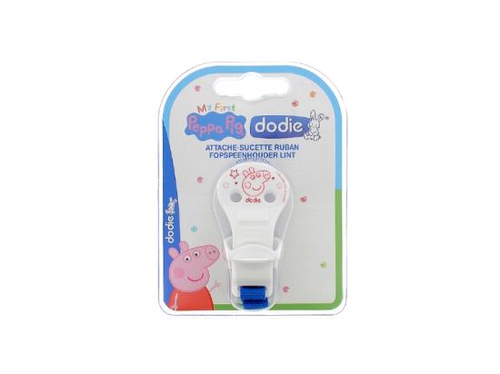 Dodie Attache-sucette Ruban Peppa Pig