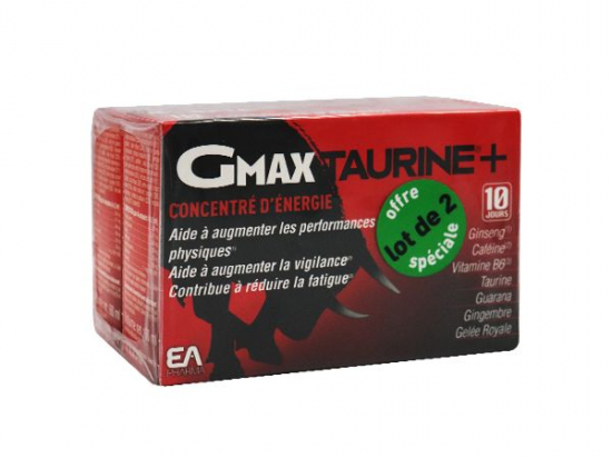 Gmax taurine+ - 2x30 ampoules
