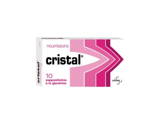 Cristal bébé - 10 Suppositoires