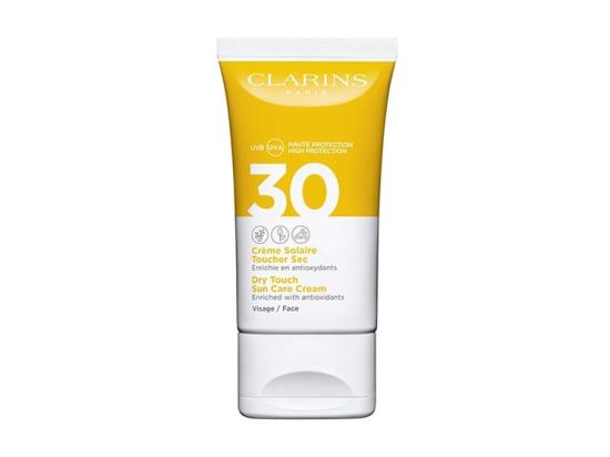 Clarins crème solaire toucher sec visage UVA/UVB SPF30 - 50ml