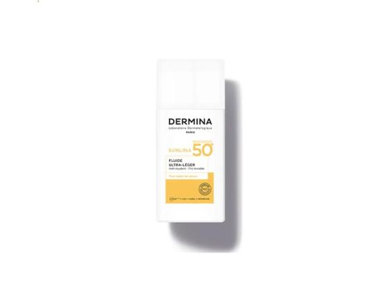 Dermina Sunlina Fluide Ultra-léger SPF50+ - 50ml