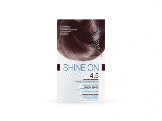 Bionike Shine on soin coloration - 4.5 Chatain acajou