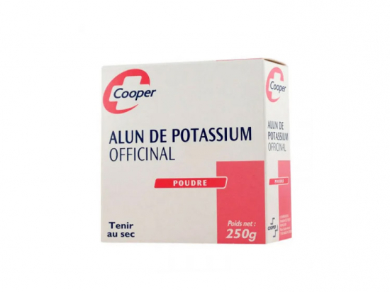 Cooper alun de potassium - 250g