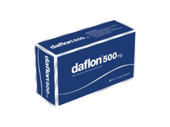 Daflon 500mg - 60 comprimés