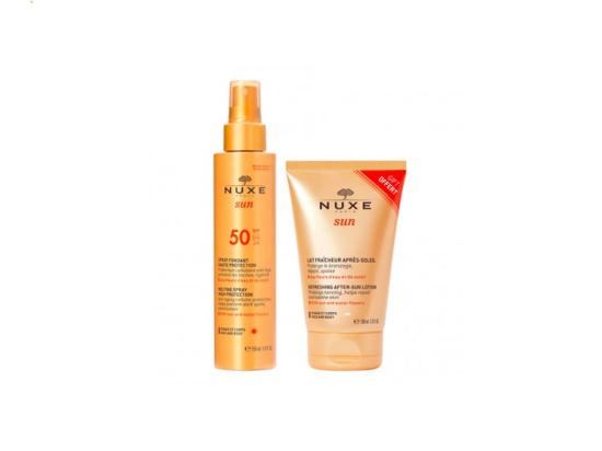 Nuxe sun Spray fondant SPF50 - 150ml + Lait après-soleil OFFERT