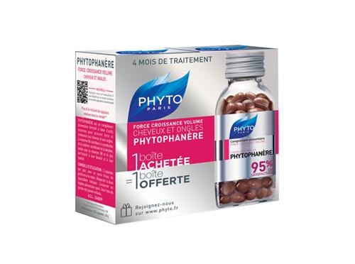 Phytophanère force croissance volume cheveux et ongles - 2x120 capsules