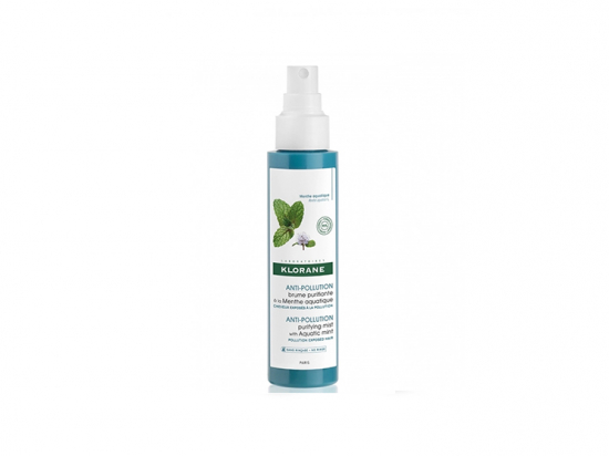 Klorane Anti-pollution Brume purifiante à la menthe aquatique - 150ml