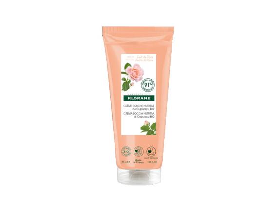 Klorane Crème Douche Nutritive au Cupuaçu Bio Parfum Lait de Rose - 200ml
