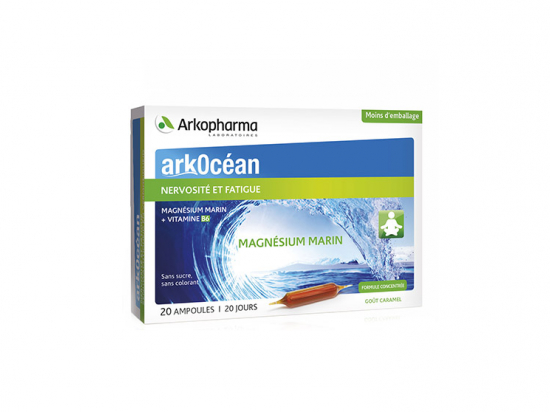 Arkopharma Arkocéan Magnésium marin - 20 ampoules