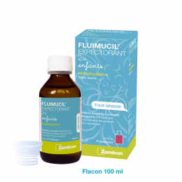 Fluimucil Expectorant 2% enfants - 100ml
