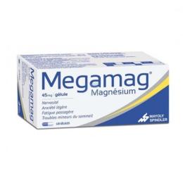 Megamag Magnésium 45mg - 120 gélules