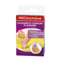 Mercurochrome coussinets confort plantaire - 2 coussinets