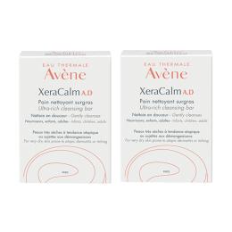 Avène XeraCalm A.D pain nettoyant surgras - 2x100g