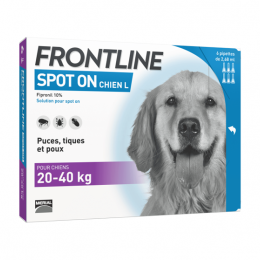 Frontline Spot-on Grand Chien 20 à 40kg - 6x 2.68ml