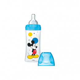 Dodie Biberon Initiation Mickey bleu  6m+  -  330ml
