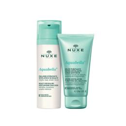Nuxe Aquabella Duo Émulsion purifiante 50ml +  Gelée hydratante 30ml