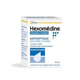 Hexomédine transcutanée 1,5 pour mille - 45ml