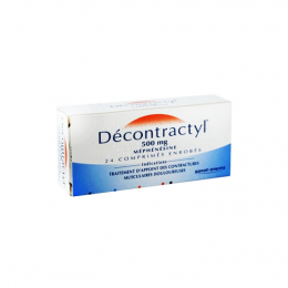 Decontractyl 500mg - 24 comprimés