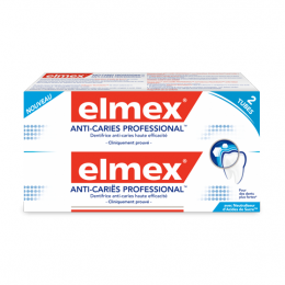Dentifrice anti-caries professional - 2x75ml