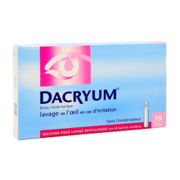 Dacryum  Lavage ophtalmique   - 10x5ml