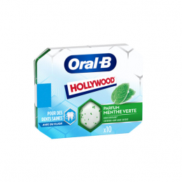 Oral B Chewing menthe verte - 10 chewingums