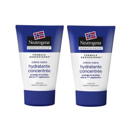 Neutrogena Crème mains hydratante concentrée - 2x50ml