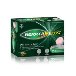 Berocca Boost - 20 comprimés effervescents