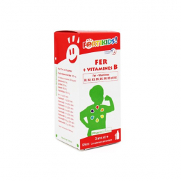 Fortikids – fer + vitamines B – 125 ml