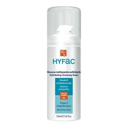 Hyfac mousse nettoyante et exfoliante 150ml