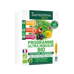 Santarome bio programme ultra minceur bio - 30 ampoules