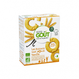 Good Gout Biscuits tout ronds BIO Vanille - 80g