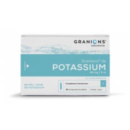 Granions de potassium - x30 ampoules
