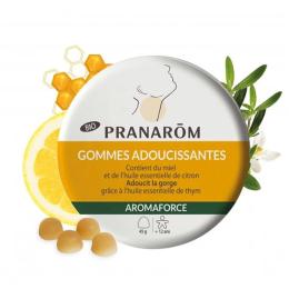 Pranarom Gommes adoucissantes miel/citron Aromaforce - 45 g