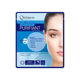 Qiriness Wraps booster Wrap purifiant Masque microfibre purifiant - 30g