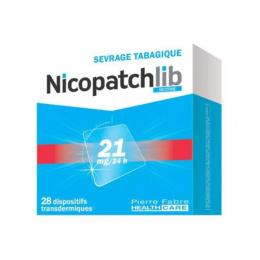 Nicopatchlib 21mg/24h - 28 patchs