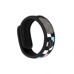 Para'kito Bracelet anti-moustique Graffic noir