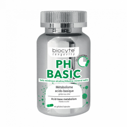 Biocyte longevity PH basic – 90 gélules