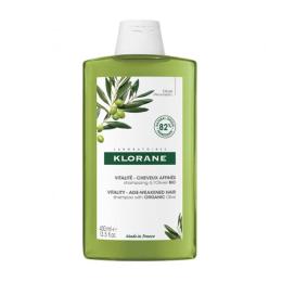 Klorane Shampooing à l'extrait essentiel d'olivier - 400ml