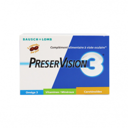 Bausch+Lomb Preservision 3 - 60 capsules