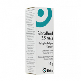 Thea Siccafluid gel ophtalmique - 10g