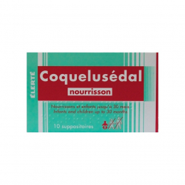Coquelusedal suppositoire nourrissons  - x10
