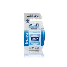 Inava Dentofil white expanding fil dentaire - 25 mètres