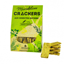 Micronutris Microdélices Crackers Happy thyme - 90g