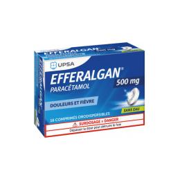 UPSA Efferalgan 500mg - 16 comprimés orodispersibles