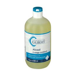 Gilbert alcool à usage médical - 500ml