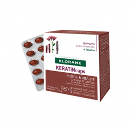 Klorane KeratinCaps - 2 boites de 30 capsules + 1 OFFERTE