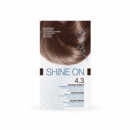 Bionike Shine on soin coloration - 4.3 Chatain doré
